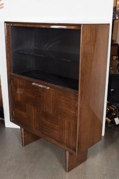 Gilbert Rohde Art Deco Walnut Bar or Cabinet Designed by Gilbert Rohde for Herman Miller - 1508090