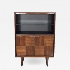 Gilbert Rohde Art Deco Walnut Bar or Cabinet Designed by Gilbert Rohde for Herman Miller - 1509314