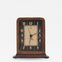 Gilbert Rohde Electric Art Deco Table Clock by Gilbert Rohde for Herman Miller - 1366654