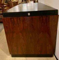 Gilbert Rohde Gilbert Rohde Art Deco Ebony Top Mid Century Modern Desk or Writing Table - 1243447