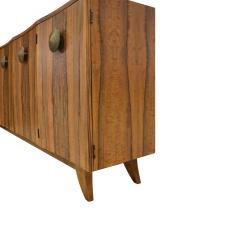 Gilbert Rohde Gilbert Rohde Elegant 4 Door Credenza In Paldao 1940s - 1562068