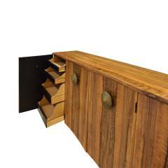 Gilbert Rohde Gilbert Rohde Elegant 4 Door Credenza In Paldao 1940s - 1562070