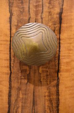 Gilbert Rohde Gilbert Rohde Elegant 4 Door Credenza In Paldao 1940s - 1562071