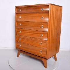 Gilbert Rohde Mid Century Modern Gilbert Rohde Highboy Dresser Art Deco 1940s - 1230608