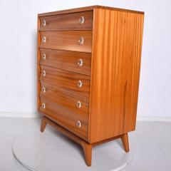 Gilbert Rohde Mid Century Modern Gilbert Rohde Highboy Dresser Art Deco 1940s - 1230611