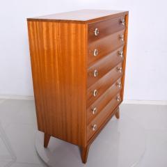 Gilbert Rohde Mid Century Modern Gilbert Rohde Highboy Dresser Art Deco 1940s - 1230615