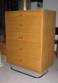 Gilbert Rohde Rare Gilbert Rohde Art Deco Dresser - 602610