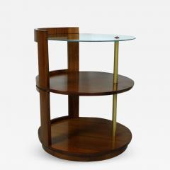 Gilbert Rohde Rare Gilbert Rohde Three Tier Side Table Or Nightstand For  Herman Miller   621563