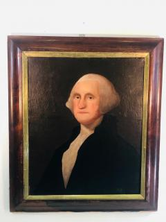 Gilbert Stuart Newton Exceptional George Washington Portrait After Gilbert Stuart - 1041140