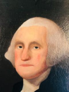 Gilbert Stuart Newton Exceptional George Washington Portrait After Gilbert Stuart - 1041141