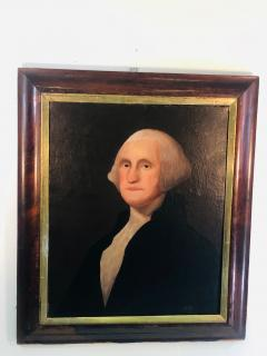 Gilbert Stuart Newton Exceptional George Washington Portrait After Gilbert Stuart - 1041142