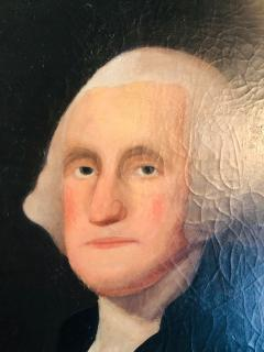 Gilbert Stuart Newton Exceptional George Washington Portrait After Gilbert Stuart - 1041144