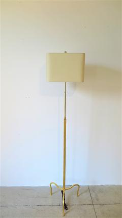 Gilded Floor Lamp Attributed to Albert Hadley - 1553409