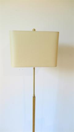 Gilded Floor Lamp Attributed to Albert Hadley - 1553411