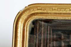 Gilded Pinewood Mirror with Original Glass - 749746