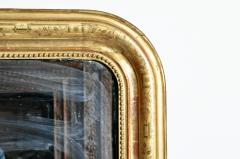 Gilded Pinewood Mirror with Original Glass - 749747