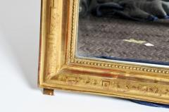 Gilded Pinewood Mirror with Original Glass - 749753