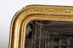 Gilded Pinewood Mirror with Original Glass - 749757