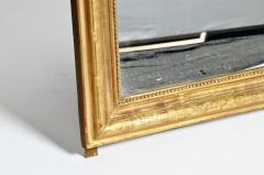 Gilded Pinewood Mirror with Original Glass - 749758