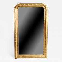 Gilded Pinewood Mirror with Original Glass - 751264