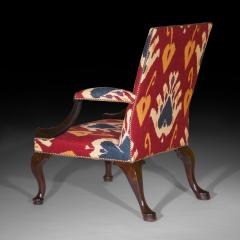 Giles Grendey Close Pair of George II Gainsborough Armchairs - 918832