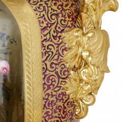 Gille Jeune Pair of large Gille Jeune Paris porcelain vases - 1459626