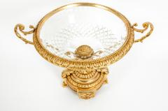 Gilt Bronze Mounted Crystal Centerpiece - 1130173