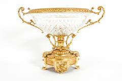 Gilt Bronze Mounted Crystal Centerpiece - 1130175