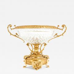 Gilt Bronze Mounted Crystal Centerpiece - 1133353