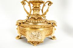 Gilt Bronze Mounted Cut Crystal Urns - 1130238
