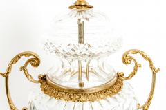 Gilt Bronze Mounted Cut Crystal Urns - 1130242