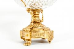 Gilt Bronze Mounted Cut Crystal Urns - 1130243