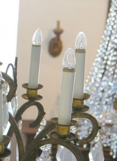 Gilt Bronze twelve light chandelier - 899837