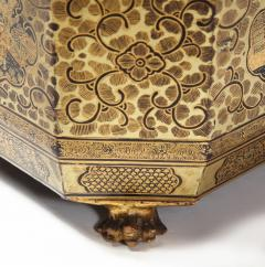 Gilt Lacquer Chinese Tea Caddy - 1946438