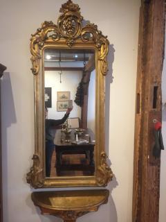 Gilt Pier Mirror - 505868