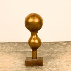 Gilt Wood Vase Circa 1870 - 1703501