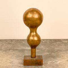 Gilt Wood Vase Circa 1870 - 1703502