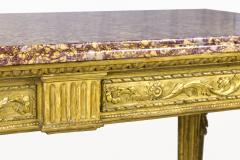 Gilt Wooden Console 18th Century Italy - 890014