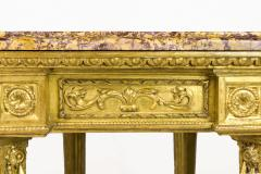 Gilt Wooden Console 18th Century Italy - 890015
