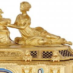 Gilt bronze and S vres style porcelain Louis XVI style casket on stand - 1954720