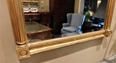 Giltwood Federal Mirror with glomis Panel - 768372