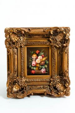 Giltwood Frame Oil Canvas Painting - 1128831
