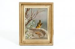 Giltwood Frame Oil Canvas Painting - 1128857