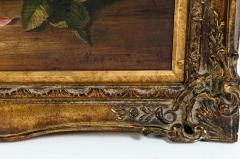 Giltwood Frame Still Life Oil Canvas Painting - 1128908