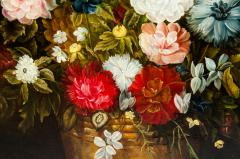 Giltwood Frame Still Life Oil Canvas Painting - 1128915