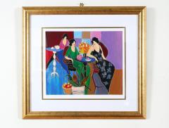 Giltwood Framed Itzchack Tarkay Signed Numbered Serigraph - 1347569