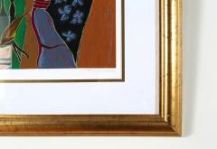 Giltwood Framed Itzchack Tarkay Signed Numbered Serigraph - 1347573
