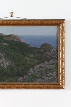 Giltwood Framed Oil Canvas Painting - 1347542
