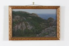 Giltwood Framed Oil Canvas Painting - 1347552