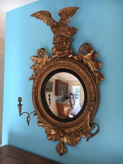 Giltwood Regency Girandole Mirror - 1891444
